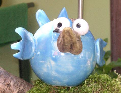 Blauer Vogel