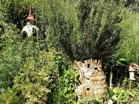 Märchenturm im Garten